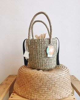 Natural | Bulan Bucket Bag | Cow Leather Sling