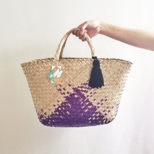 Dyed | Purple | Teman Tote