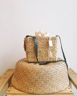 Natural | Kemarau Crossbody | Cow Leather Sling