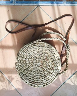 Natural | Purnama Purse | Cow Leather Sling